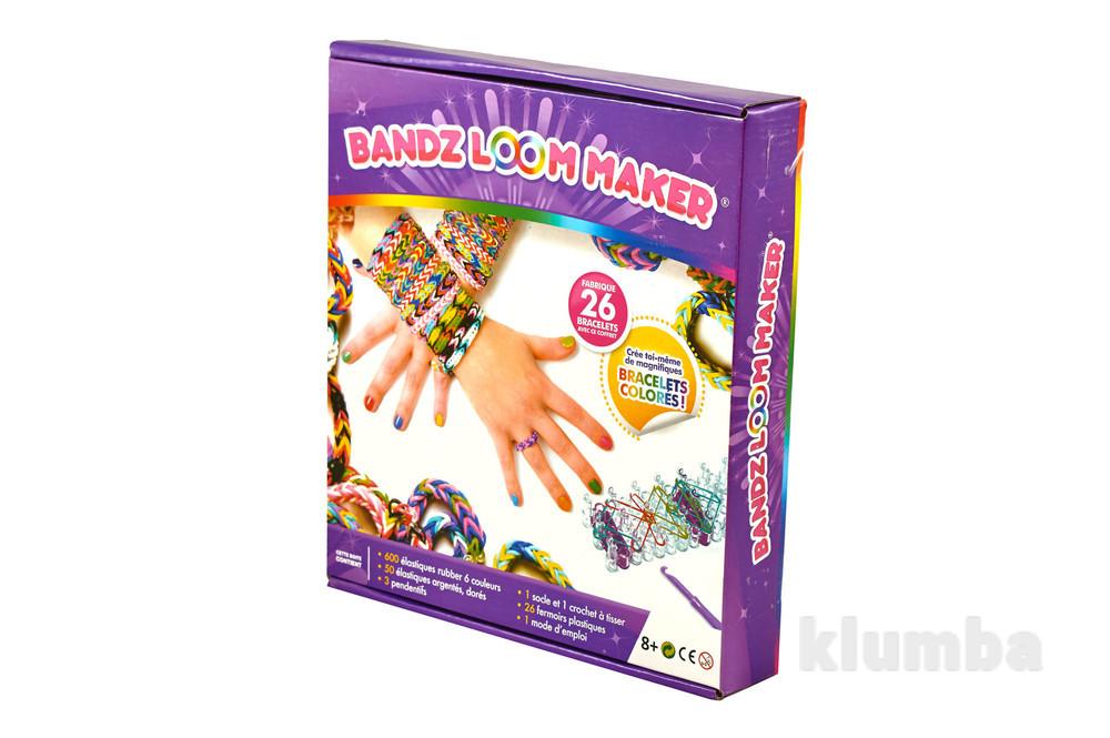 Набор loom bands станок и 600 резинки для плетения браслетов шармы детский развивающий фото №1