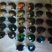 Очки сонцезащитные разные 15 видов