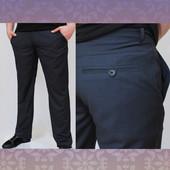 Новинка 2016! Весенне-летние мужские брюки с косым карманом (джинсовый крой).