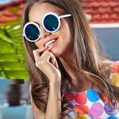 Модные женские круглые очки, в наличии