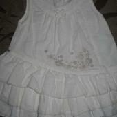 Плаття платье (Сарафан) Matalan 0 - 3 місяців. стан нового