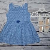 1 - 2 года 92 см H&M Фирменный летний сарафан платье очень очень крутой