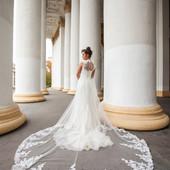 Enzoani Свадебное платье для красивой и стройной девушки  идеальное