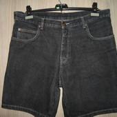 Шорты джинсовые большой размер 52р.(пояс96см)