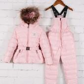 Раздельные зимние комбинезоны для детей Bogner для девочек