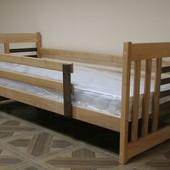 Кровать детская Роланд с бортиками, ящиками, 80 190см