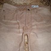 песочные брюки-чино