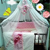 Шикарные комплекты детского постельного белья  Бонна Люкс + держатель+ доставка!