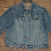 мужской пиджак джинсовый authentic размер Л, 100% коттон