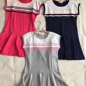 Платье для девочек 4-12 лет.8411
