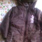 Куртка - пальто демисезонная на девочку 2 - 3 года 92-98.