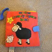 Чудесная мягкая книжка для раннего развития от Mohtercare