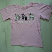Фирменная футболка на 4 года