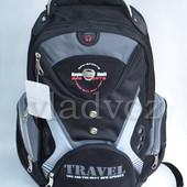 Школьный рюкзак ортопедическая спинка Travel DFW чёрный