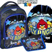 Комплект школьный Рюкзак +пенал+сумка энгри бердс