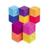 Развивающие мягкие кубики-сортеры ABC от Battat