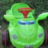 Педальная машинка, от 3-5 лет. Kinder way.Цена актуальна