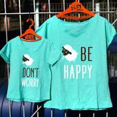 Парні футболки для мами та дитини