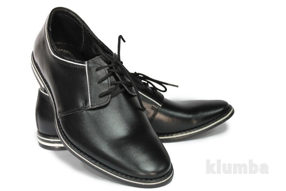 Классические мужские туфли натур. кожа 3 модели код: к-113,114,115 фото №1