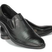 классические мужские туфли натур. кожа  2 модели