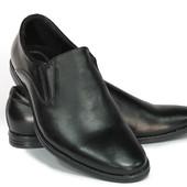 классические мужские туфли натур. кожа 2 модели Код: К-111,112