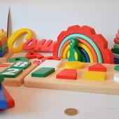 Деревянные эко игрушки ручной работы