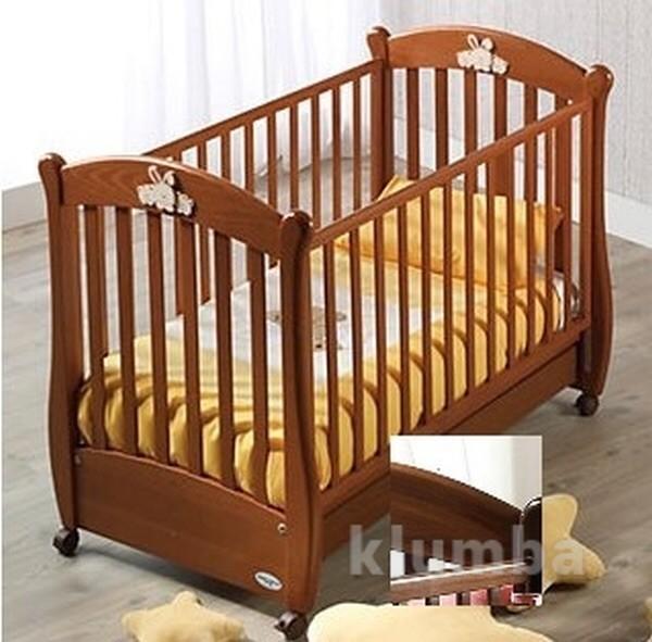 Итальянская кроватка из натурального дерева ruggeri rosa+ шикарные подарки к покупке фото №1