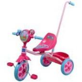 Велосипед детский 3 х колесный лицензионный Peppa  с ручкой для родителей от  Kiddieland