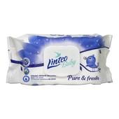 Детские влажные салфетки Linteo baby pure & fresh 80шт