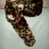 Фирменный шарф Тигренок меховой