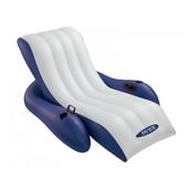 Пляжное надувное кресло для воды Intex 58868     (180х135 см.)