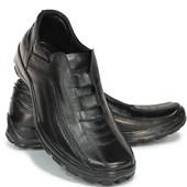 комфортные мужские туфли натур. кожа 2 модели КФ 204,205