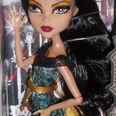 Monster High Cleo de Nile страх, камера, мотор!