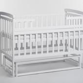 Детская кроватка Детский Сон без ящика с маятником