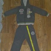 Теплый спортивный костюм 1,5 - 3 года