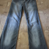 джинсы oppio , размер С-М, длина общая-114см