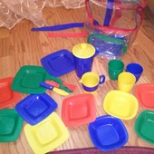 Большой набор посудки