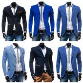 стильный молодёжный мужской пиджак