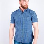 Недорогие мужские рубашки с коротким рукавом , №94S065
