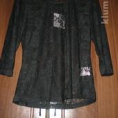 блуза-реглан гипюр