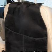 Защита спинки переднего сидения автомобиля от ног ребенка