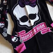 Реглан Monster High (оригинал)!!! Рост 110 см