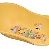 Тега (Tega) Детская ванночка Safari овальная 102см с градусником