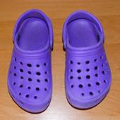 Красивые кроксы для ребенка, размер С13 (19 см)