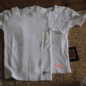 Белые футболки некст 3-4 года