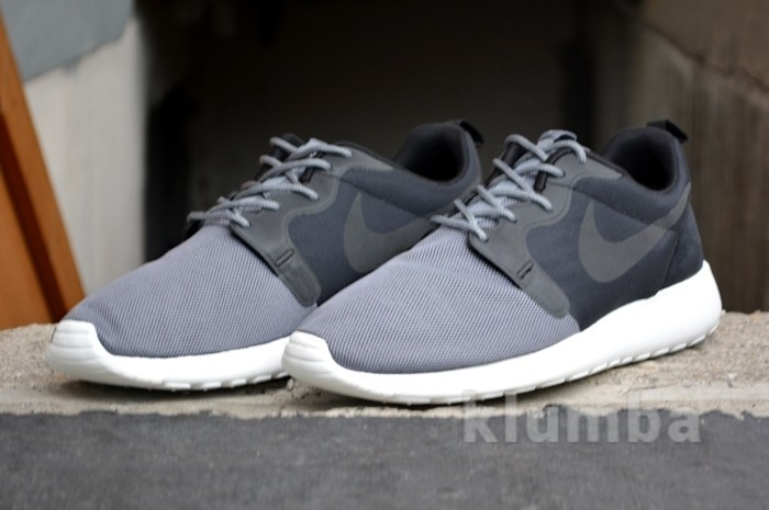 Кроссовки nike roshe run hyperfuse grey, р. 40,41,42,43,44 фото №1