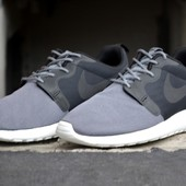 Кроссовки Nike Roshe Run Hyperfuse Grey, р. 40,41,42,43,44