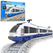 Конструктор Поезд локомотив Ausini 681 детали 25903 аналог лего