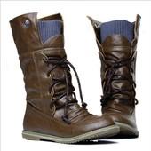 ботильоны сапоги ХИТ! милитари! женские ботинки кроссовки сникерсы дутики угги зимние демисезонные