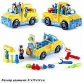 Машина-конструктор с инструментом  Huile Toys 789